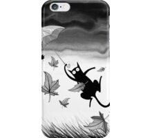 Umbrella by Andrew Hitchen iPhone Case/Skin