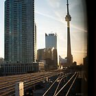CN Tower @ Union Station by Gary Chapple