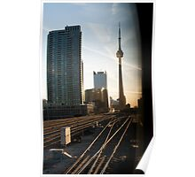 CN Tower @ Union Station Poster