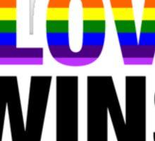 # Love Wins - #LoveWins Sticker