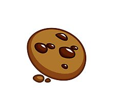 Video Game Cookie Photographic Print