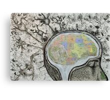 Map of the Mind Canvas Print
