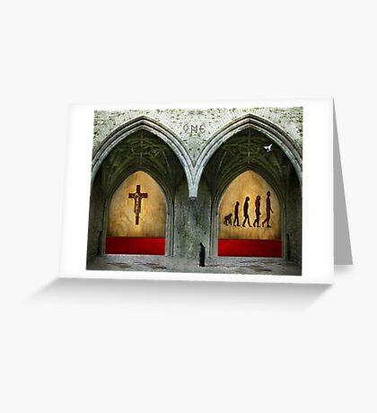 The Prophet:  Truth Has Many Doors Greeting Card