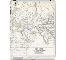 Atlas zu Alex V Humbolt's Cosmos 1851 0180 How the Ancients Knew the Earth iPad Case/Skin