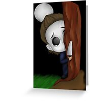 Michael Myers Chibi (Halloween Movies) Greeting Card