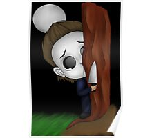 Michael Myers Chibi (Halloween Movies) Poster