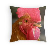 'PUNK' Cockerel Throw Pillow