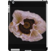 Flower pillows & Art- Consolation- A poppy for Shelley iPad Case/Skin