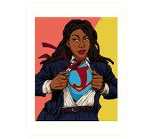 the heroes we deserve - Jessica Williams Art Print
