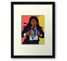the heroes we deserve - Jessica Williams Framed Print