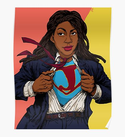 the heroes we deserve - Jessica Williams Poster