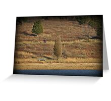 Perimeter Autumn Walk Greeting Card