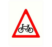 Cycling Symbol Art Print