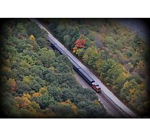 Gorge Train Photographic Print