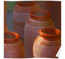 India Earthen Pottery#2 Poster
