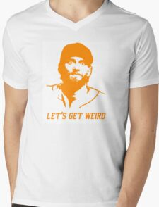 """Let's Get Weird"" - Hunter Pence Mens V-Neck T-Shirt"