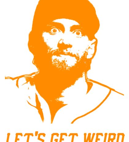 """Let's Get Weird"" - Hunter Pence Sticker"