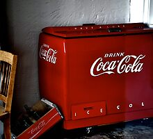 Prison Guard Coke Cooler by Ryan  Broderick