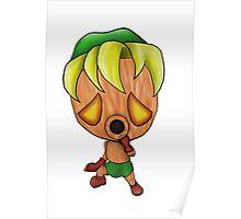 Deku Link Chibi (The Legend of Zelda: Majoras Mask) Poster