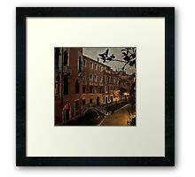 Venice - Room with a View Framed Print