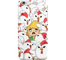 The Legend of Zelda ~ Link Chicken iPhone Case/Skin