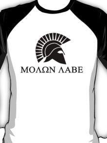 Molon lave - Spartan warrior T-Shirt
