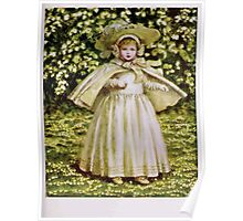 Kate Greenaway Collection 1905 0447 A Baby in White Poster