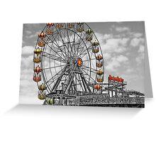 Skeggy Giant Wheel Greeting Card