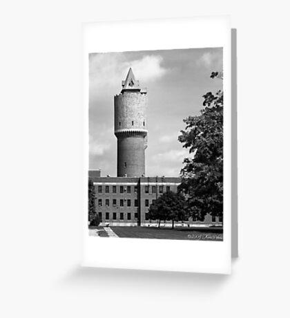 Water Tower - Kalamazoo Psychiatric Hospital Greeting Card