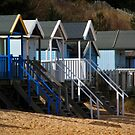Beach Huts by FraserJ