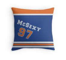 McSexy - Jersey Style Throw Pillow