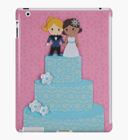 Cute Little Wedding iPad Case/Skin
