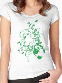 Grow Green Women's Fitted Scoop T-Shirt