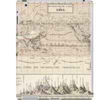 Atlas zu Alex V Humbolt's Cosmos 1851 0160 Histographic Map of the Earth iPad Case/Skin