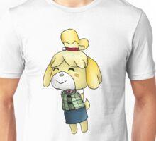 Isabelle Chibi (Animal Crossing:New Leaf) Unisex T-Shirt