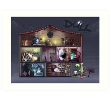 Dull - The dolls'house Art Print