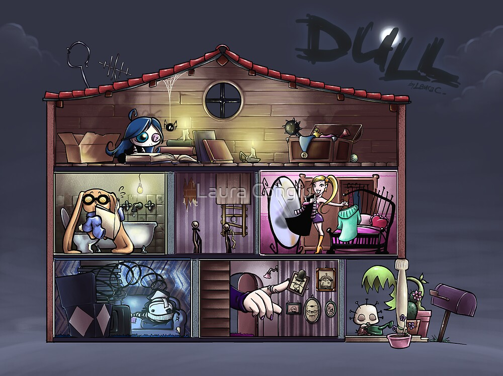 Dull - The dolls'house by Laura Congiu