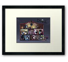 Dull - The dolls'house Framed Print