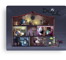 Dull - The dolls'house Canvas Print