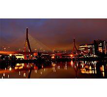 Zakim bridge Photographic Print