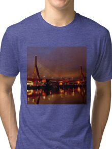 Zakim bridge Tri-blend T-Shirt