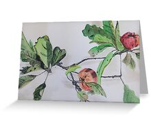 Apple Tree Branch Greeting Card