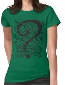 Riddle Me This Womens Fitted T-Shirt