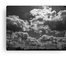 B+W Clouds-2 Canvas Print