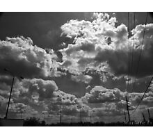 B+W Clouds-2 Photographic Print