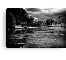 Ugbrooke Lake Canvas Print