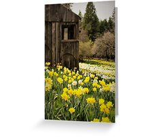 Country Spring Greeting Card