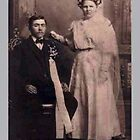 My Maternal Grandparents in 1904 by Carol Clifford