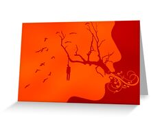 The Hanging Tree  Greeting Card