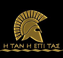 Spartan warrior - Come back with your shield or on it by augustinet